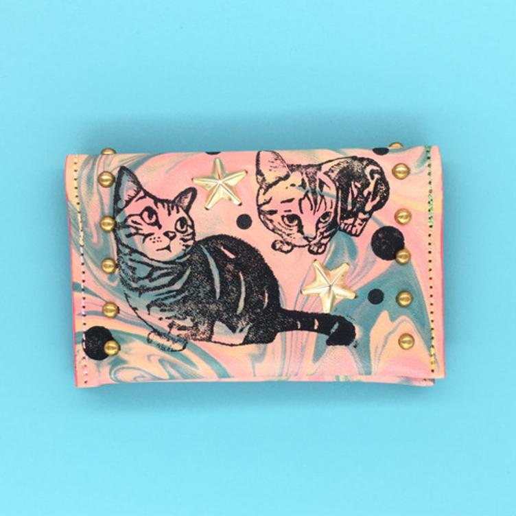 【セミオーダー】牛革手染め・カードケース
