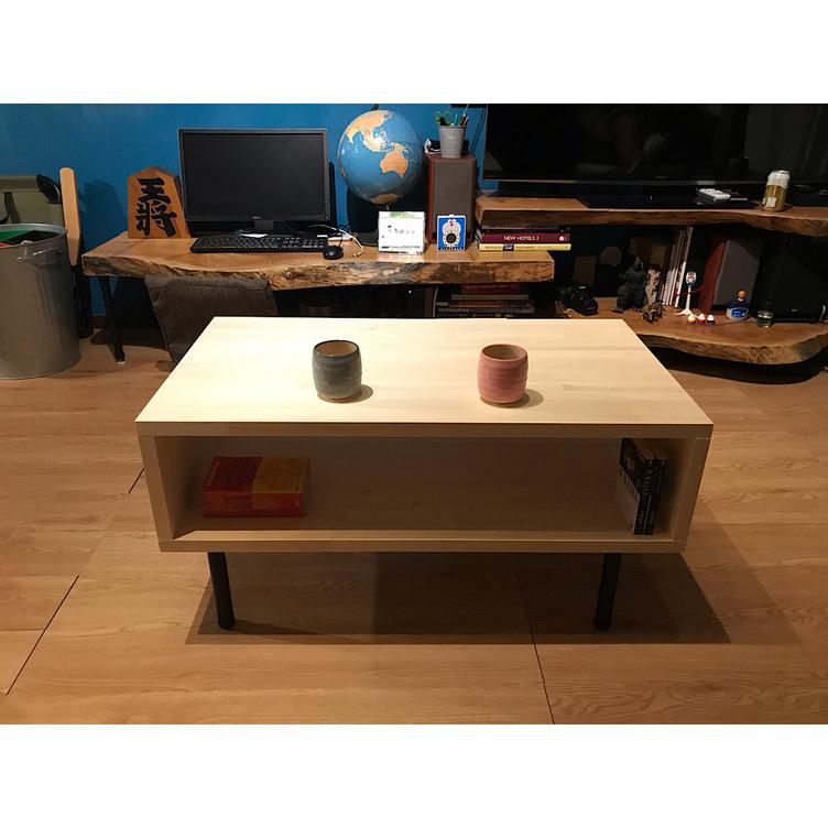 〓栄町工房〓 集成材テーブル 固定脚式A型 / 脚はご自身でお取付け